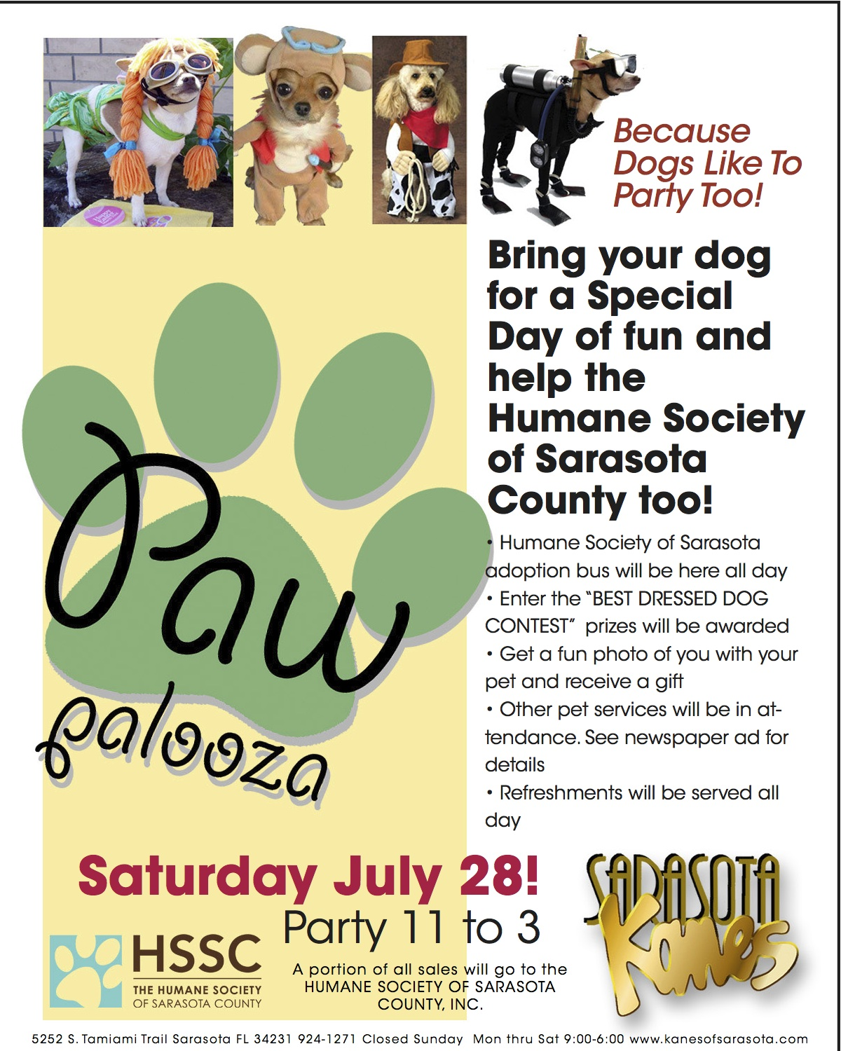 A Pet Party At Kane S Furniture Saturday July 28