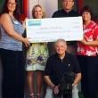 Satchel's Last Resort receives donation from Bayside Pet Resort