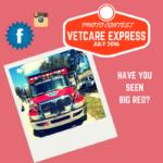 VetCare Express Photo Contest – Where's Big Red?